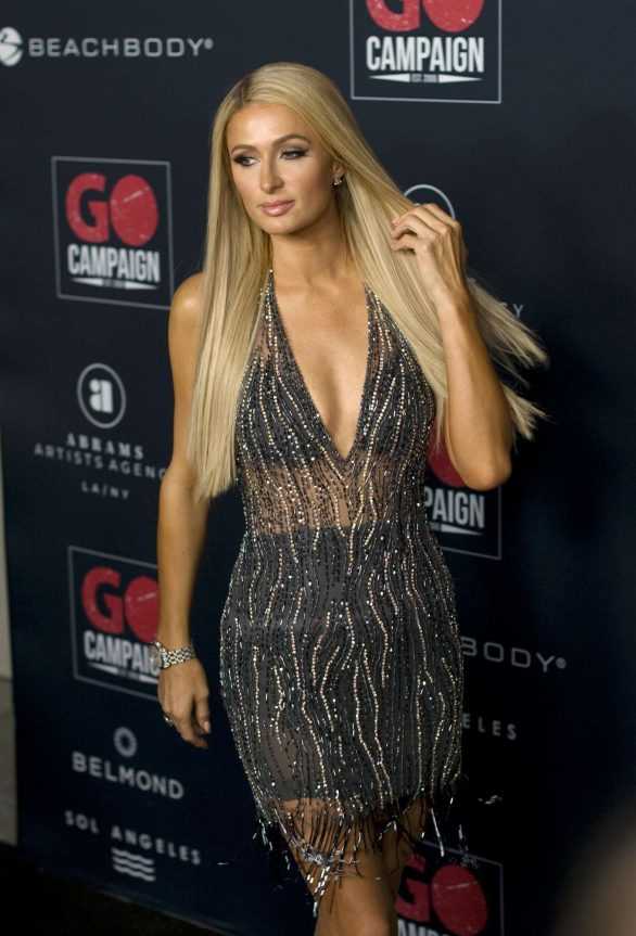 Paris-Hilton---2019-GO-Campaigns-Gala-at