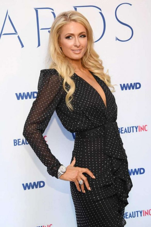 Paris Hilton - 2019 WWD Beauty Inc Awards in New York City