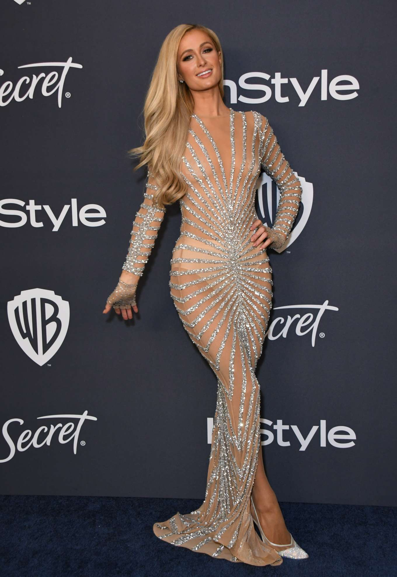 Paris Hilton - 2020 InStyle and Warner Bros Golden Globes Party in Beverly Hills