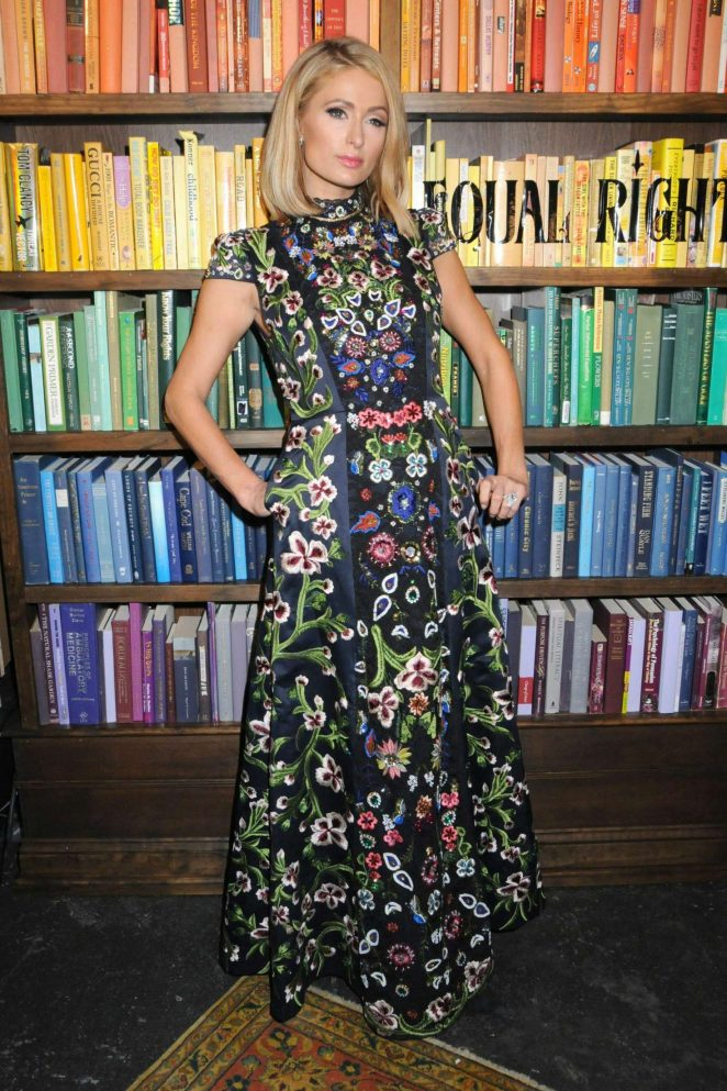 Paris Hilton - Alice + Olivia Presentation 2018 in New York