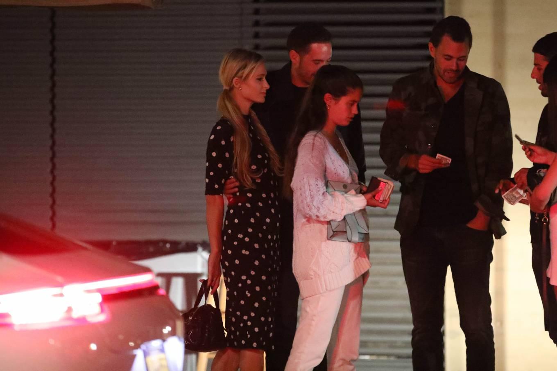 Paris Hilton 2020 : Paris Hilton and Carter Reum – Out at dinner at Nobu in Malibu-03