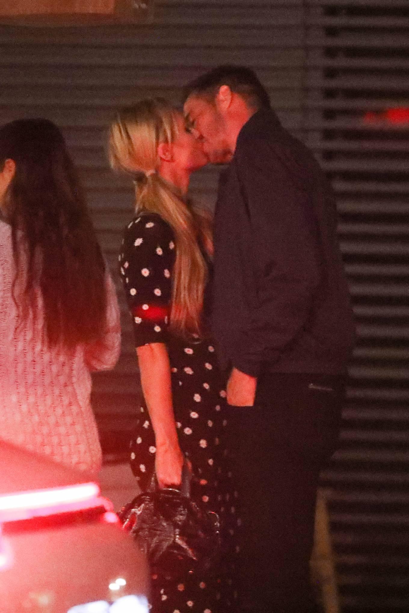 Paris Hilton and Carter Reum - Out at dinner at Nobu in Malibu