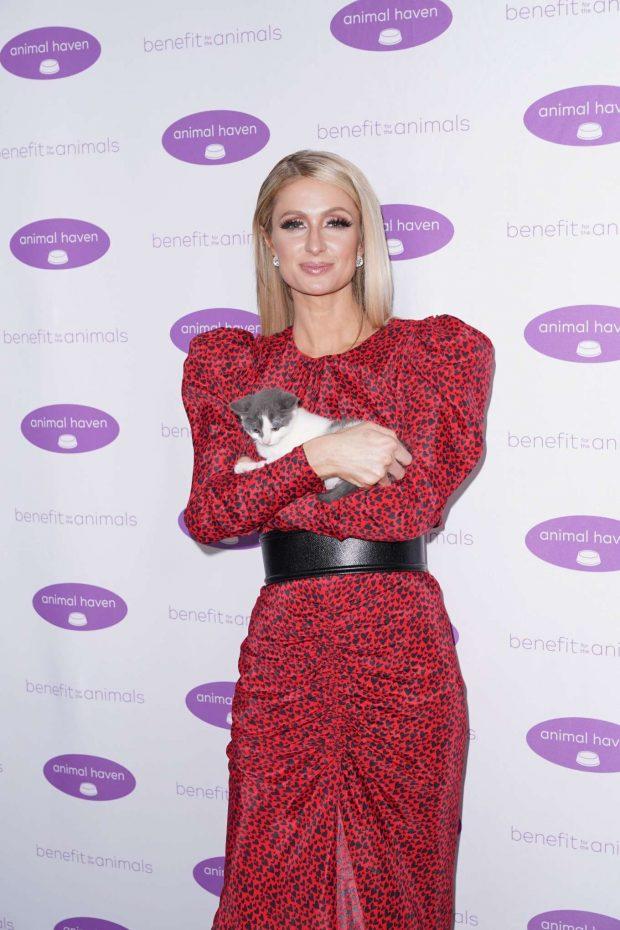 Paris Hilton - Animal Haven Gala 2019 in New York