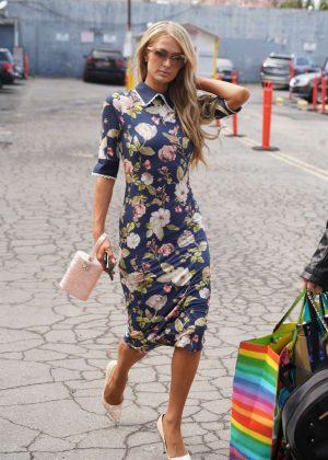 Paris Hilton - Arrives at the Sasha Project LA's Rock the Runway Event in LA