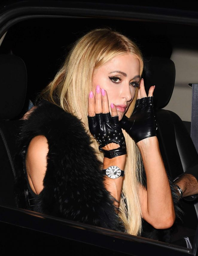 Paris Hilton - Arrives to Revolve event in Los Angeles