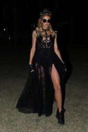 Paris Hilton at 2019 Coachella in Indio