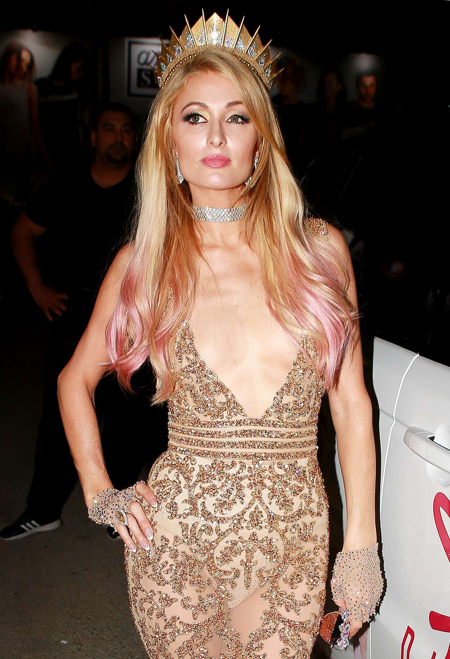 Paris hilton at foam and dimonds opening party in ibiza - Paris hilton ibiza ...
