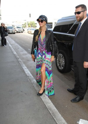 Paris Hilton at LAX Airport in Los Angeles