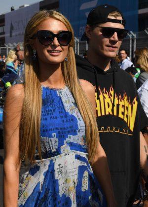 Paris Hilton at the FormulaE event in Mexico