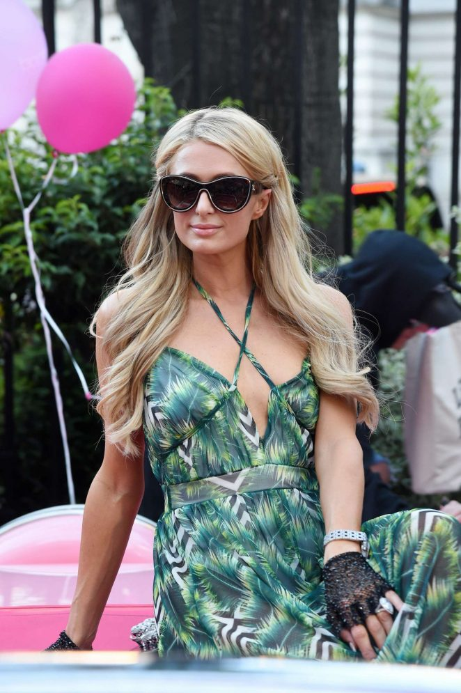 Paris Hilton - Boohoo Collection Launch Party in Paris
