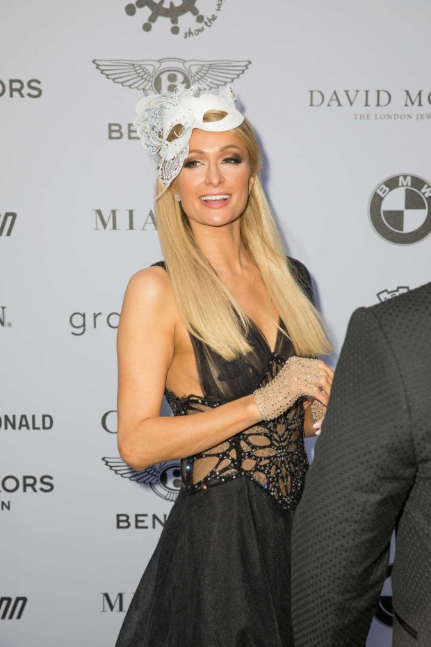 Paris Hilton: Cash & Rocket Masquerade Ball & Auction Gala-01