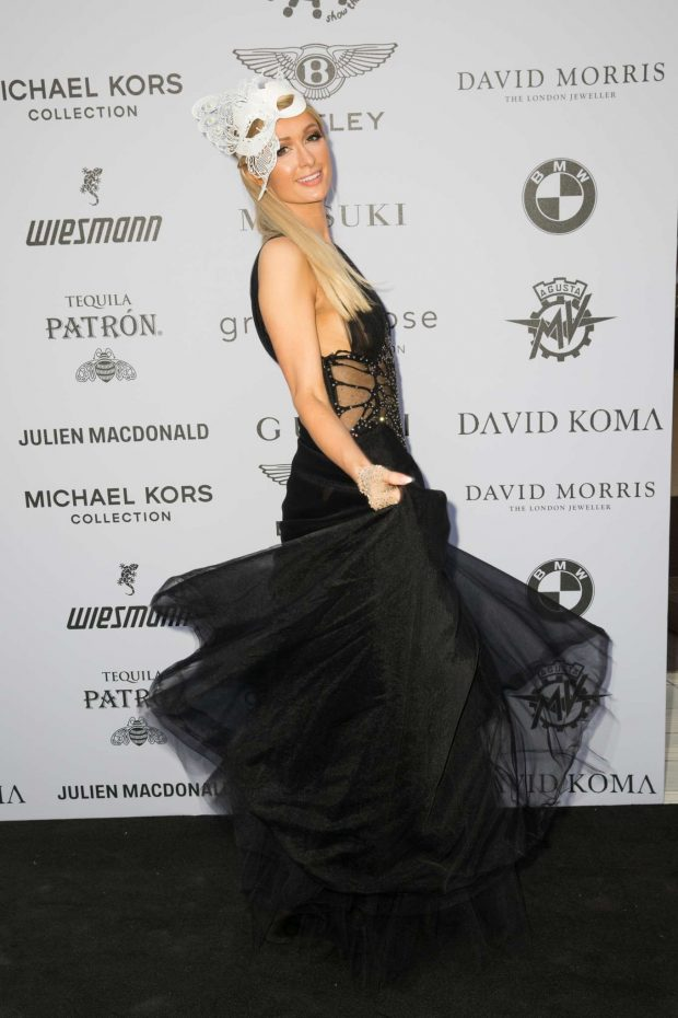 Paris Hilton: Cash & Rocket Masquerade Ball & Auction Gala-03