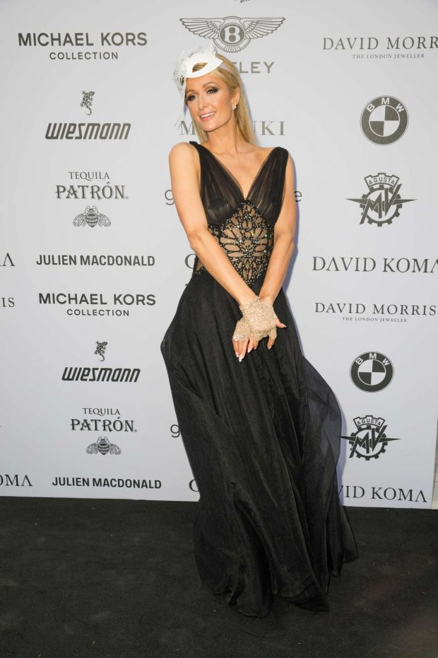 Paris Hilton: Cash & Rocket Masquerade Ball & Auction Gala-05