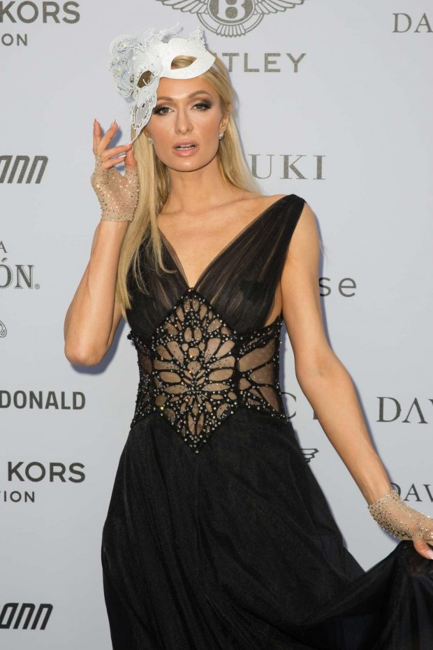 Paris Hilton - Cash & Rocket Masquerade Ball & Auction Gala in London