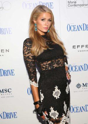 Paris Hilton - Celebrate the Ocean Drive Magazine in Miami