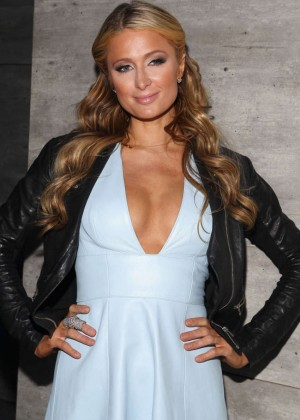 Paris Hilton - Charlotte Ronson Fashion Show 2015 in NYC