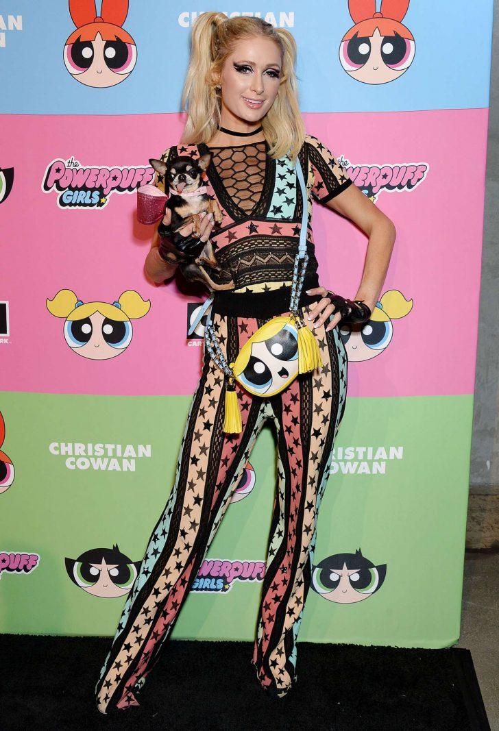 Paris Hilton - Christian Cowen x The Powepuff Girls Runway Show in LA