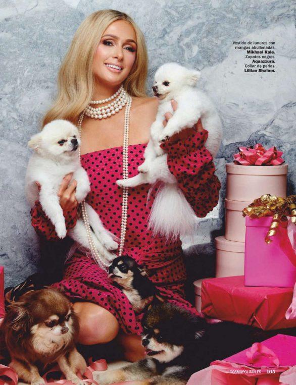 Paris Hilton - Cosmopolitan Espana Magazine (December 2019)