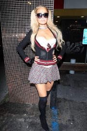 Paris Hilton - Demi Lovato's Halloween Party at Hyde in Hollywood