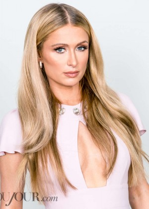 Paris Hilton - Dujour Magazine (April 2015)