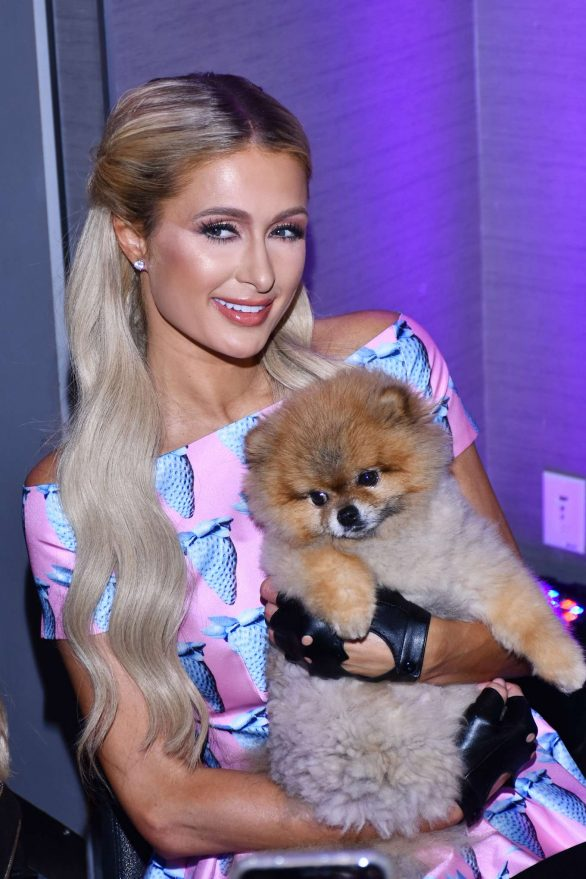 Paris Hilton - Electrify perfume launch at W Hotel in Mexico City