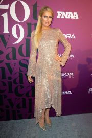 Paris Hilton - Footwear News Achievement Awards IAC in New York City