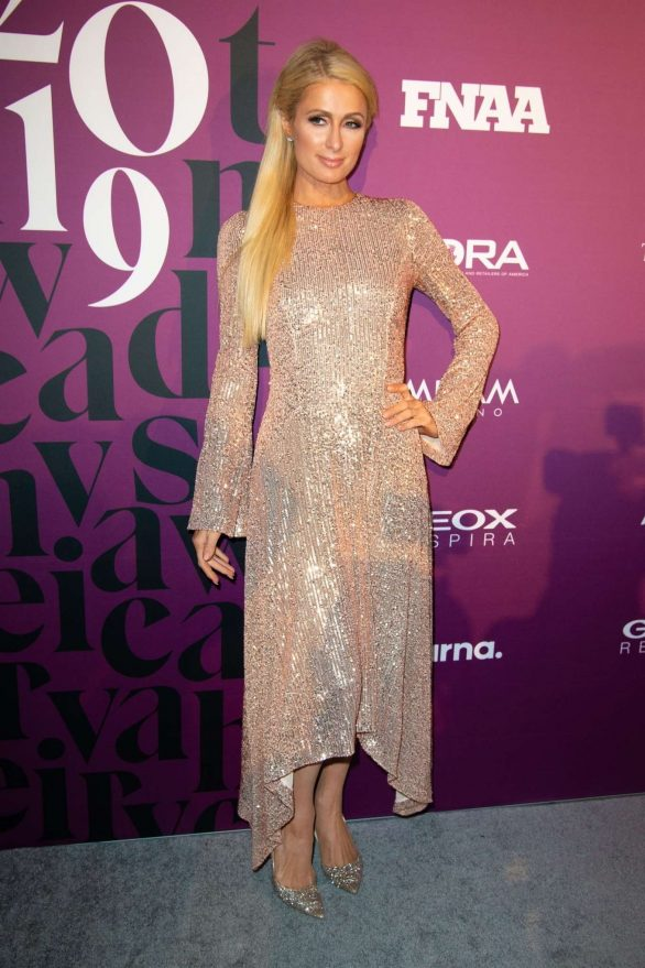 Paris Hilton - Footwear News Achievement Awards IAC in New York City
