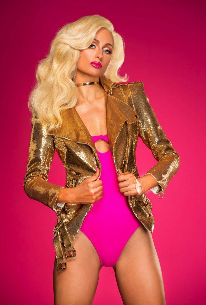 Paris Hilton – Galore Magazine Art Issue 2017