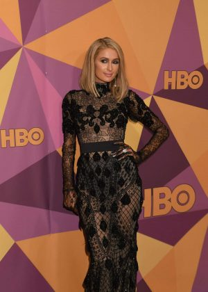 Paris Hilton - HBO's Official Golden Globe Awards After Party in LA