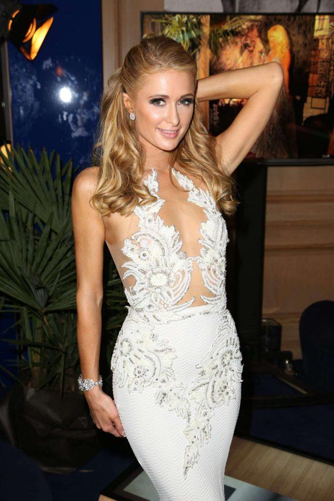 Paris Hilton – Heart Fund Party at 2016 Cannes Film Festival