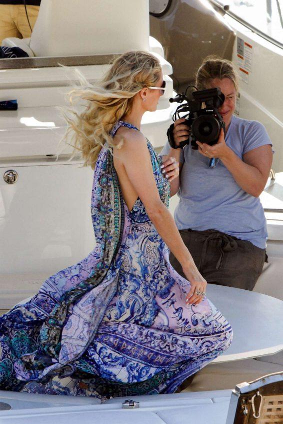 Paris Hilton 2019 : Paris Hilton in Long Dress-03