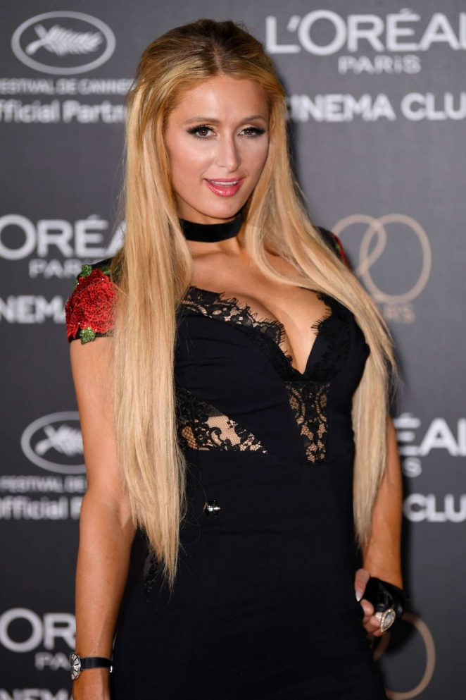 Paris Hilton - L'Oreal 20th Anniversary Party in Cannes