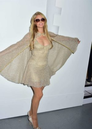 Paris Hilton - Lanyu Fashion Show At 2017 NYFW In New York