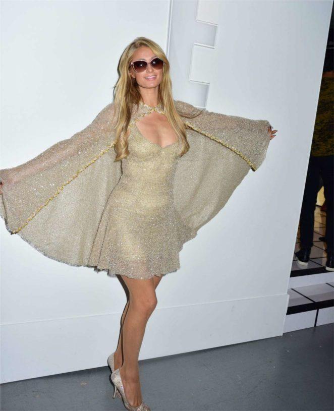 Paris Hilton - Lanyu Fashion Show At 2017 NYFW In New York