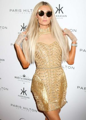Paris Hilton - Launches her skincare line at Hakkasan Nightclub in Las Vegas