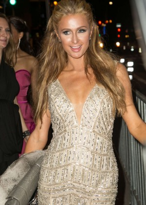 Paris Hilton - Leaving the Universal Music Group's Grammy After Party in Hollywood