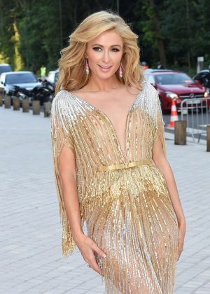Paris Hilton - Louis Vuitton Art Of Giving Love Ball in Paris