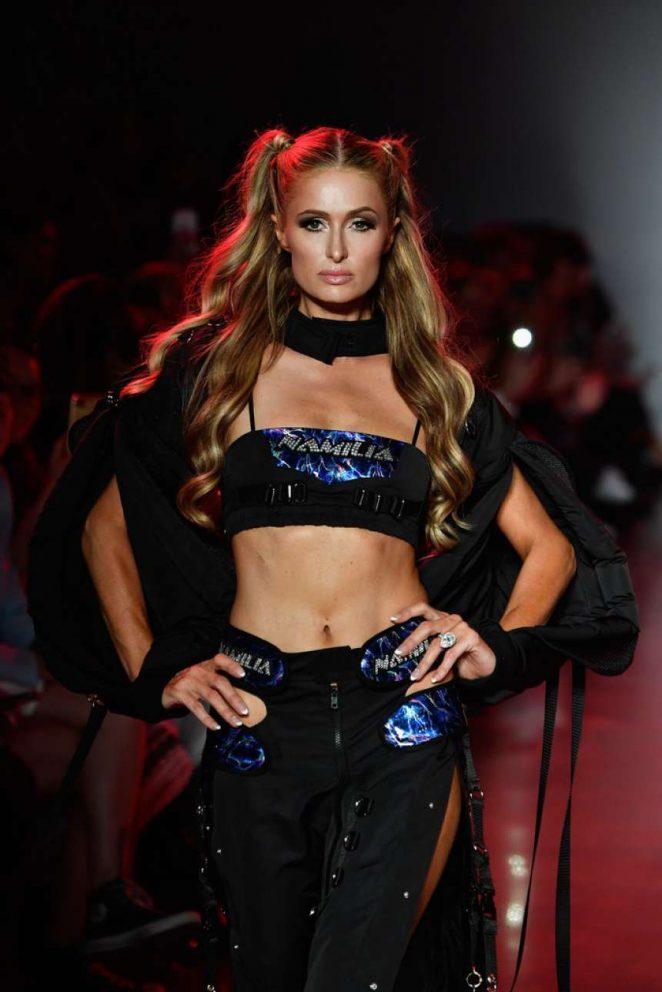 Paris Hilton - Namilia Runway Show SS 2019 in NYC