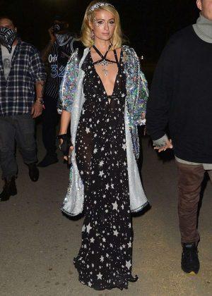 Paris Hilton - Neon Carnival Party at 2018 Coachella in Indio