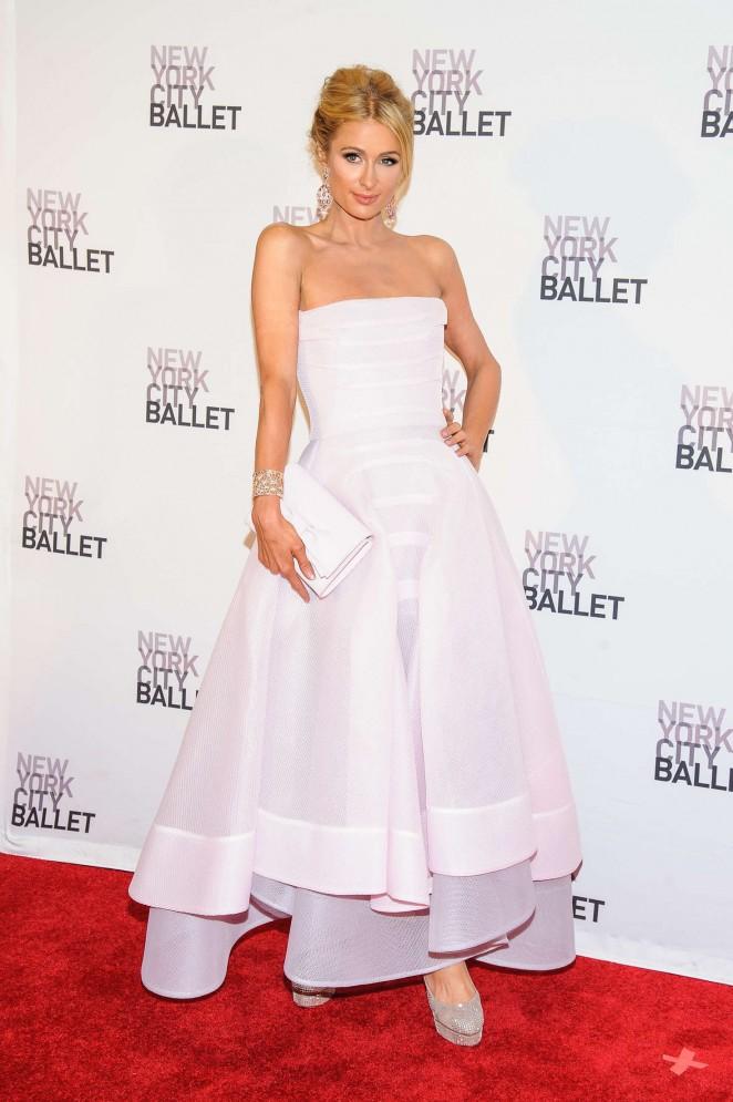 Paris Hilton – New York City Ballet Spring Gala in New York