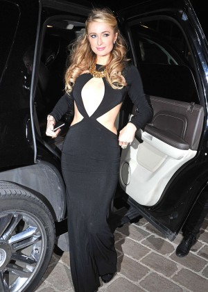 Paris Hilton: Night out in Cannes -04