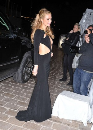 Paris Hilton: Night out in Cannes -10