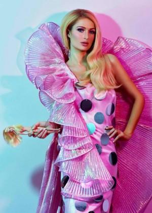 Paris Hilton - ODDA Magazine 2015