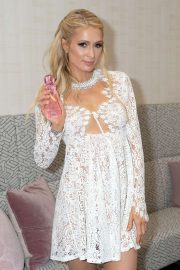 Paris Hilton - On 'Despierta America' at Univision Studios in Miami