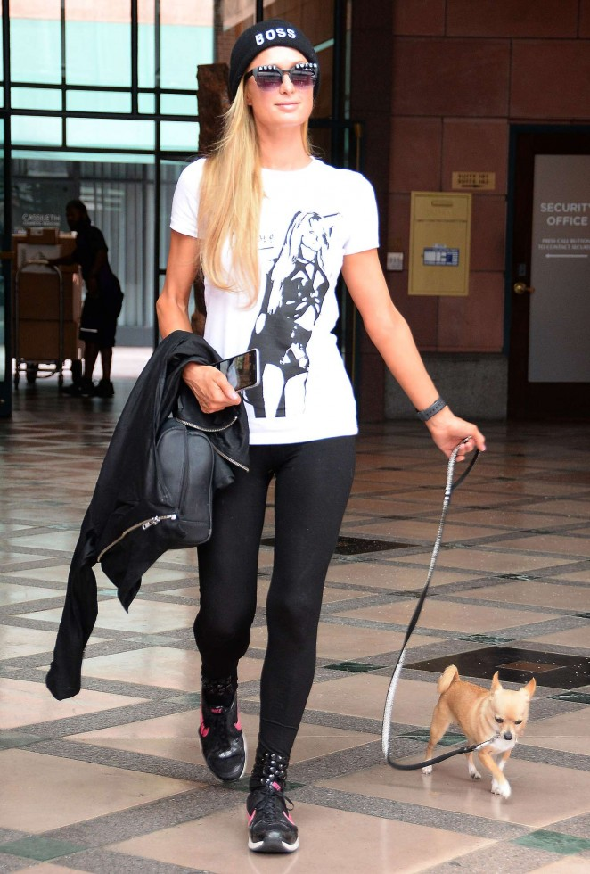 Paris Hilton – out and about in Los Angeles