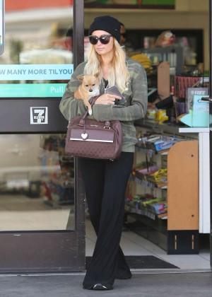 Paris Hilton out in Los Angeles