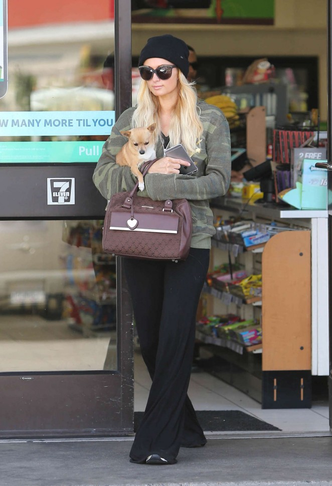 Paris Hilton out and about in Los Angeles