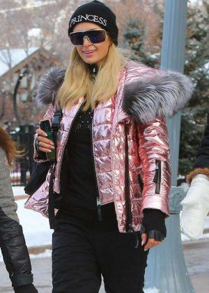 Paris Hilton - Out in Aspen