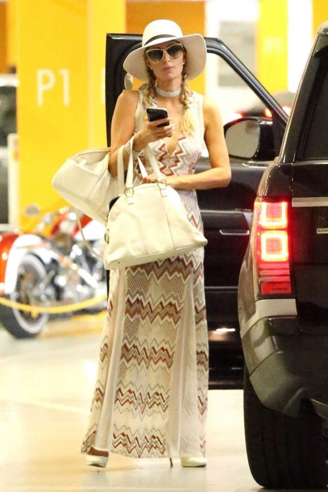 Paris Hilton out in Hollywood