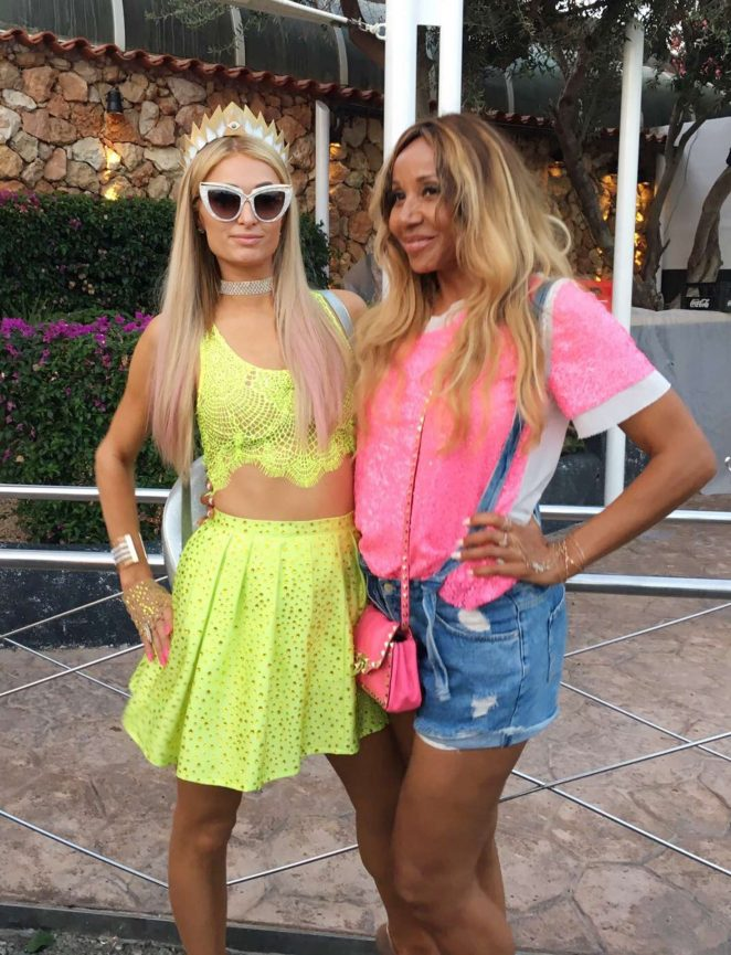 Paris Hilton - Out in Ibiza